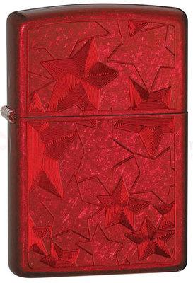 Зажигалка Zippo 21063 Candy Apply Red вид 1